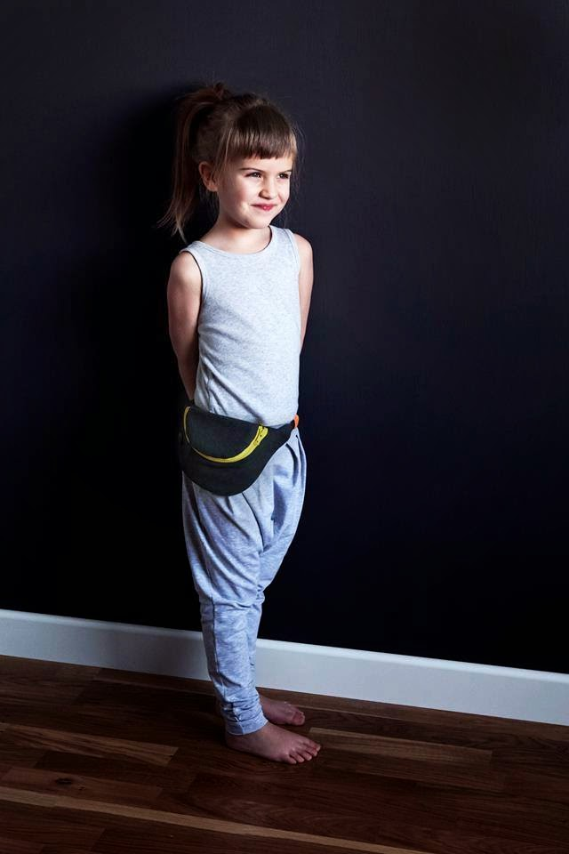 Comfortable slouchy pants + kidney belt by Kujukuju