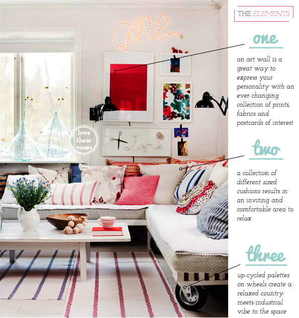 Home Tour Relaxed Swedish Country Style Bright Bazaar By Will