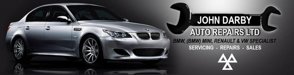 John Darby Auto Repairs - Bmw specialist, Renault specialist, Volkswagen specialist