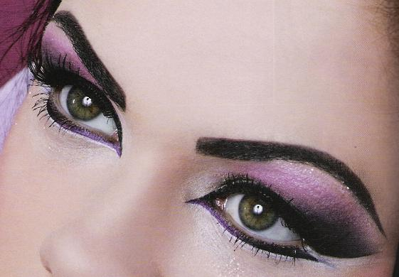 Arabic Eye makeup 2013