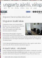 kiadó lakás ungvár - pr-szolgáltatás
