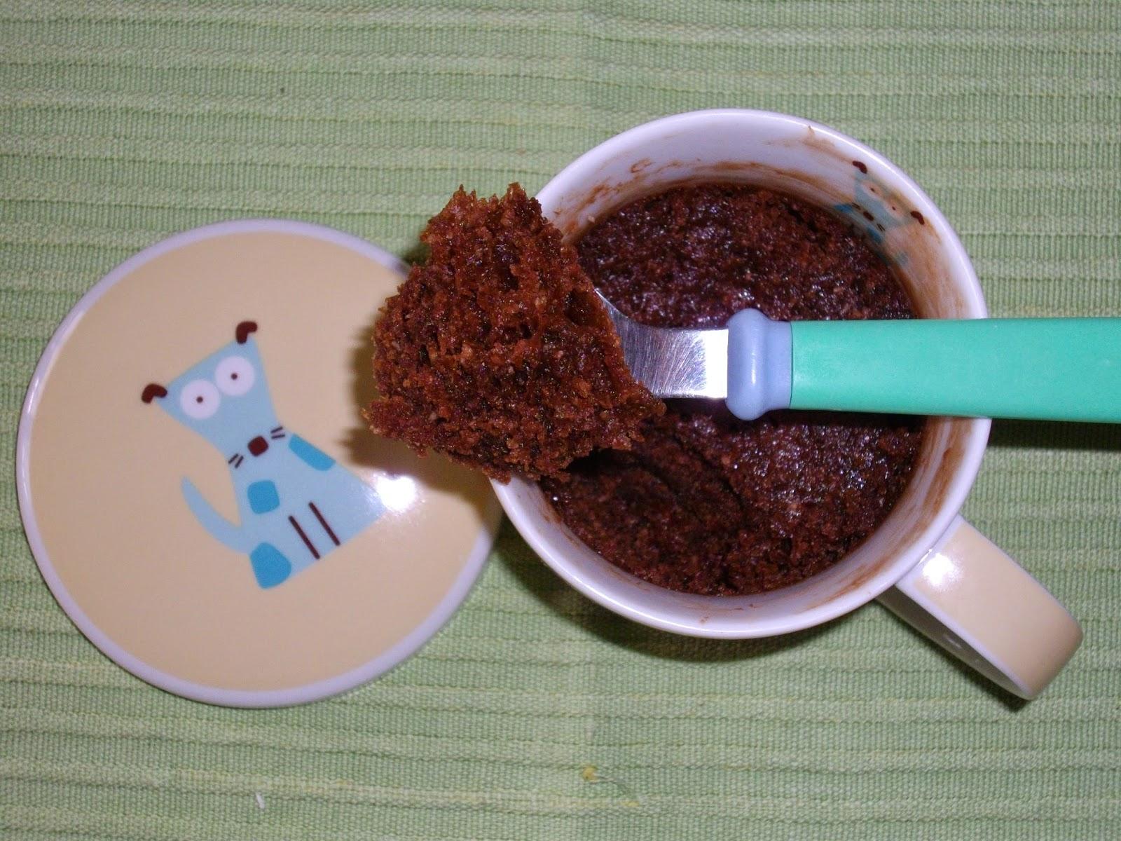 Recetas de bizcocho taza microondas sin huevo