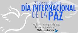 #21Septiembre Día Internacional de la Paz