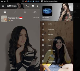BBM Mod Raisa Apk 2.11