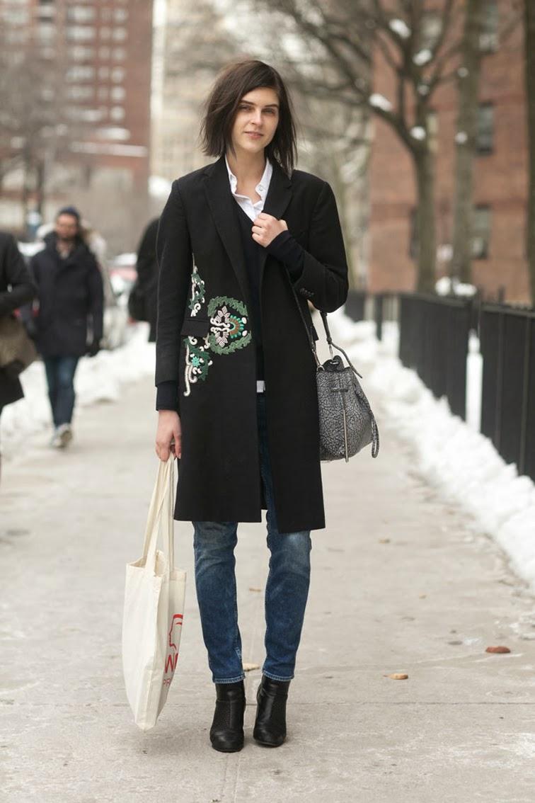Kel Markey model off duty, street style