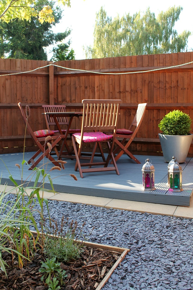 Small garden makeover on a budget just a little less for Garden makeover