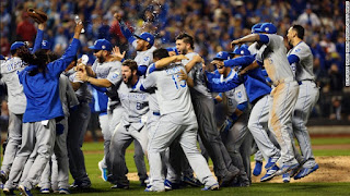 BÉISBOL (MLB 2015) - Los Royals olvidan las World Series del año pasado con su segundo título mundial ante los Mets