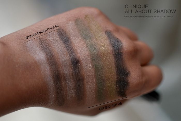 Clinique All About Eyeshadow Quad Indian Darker Skin Beauty New Makeup Blog Photos Swatches Jennas Essentials 02 On Safari 05