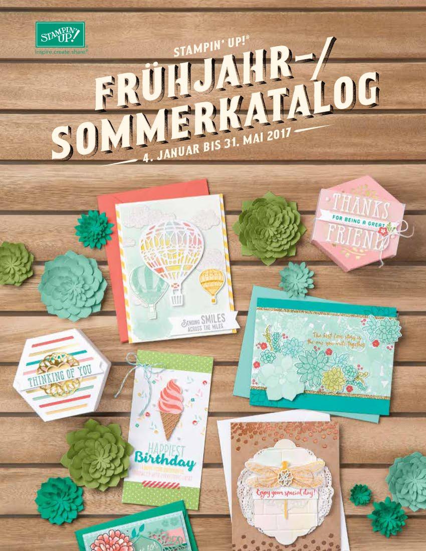 Frühjahr-/Sommer-Katalog 2017