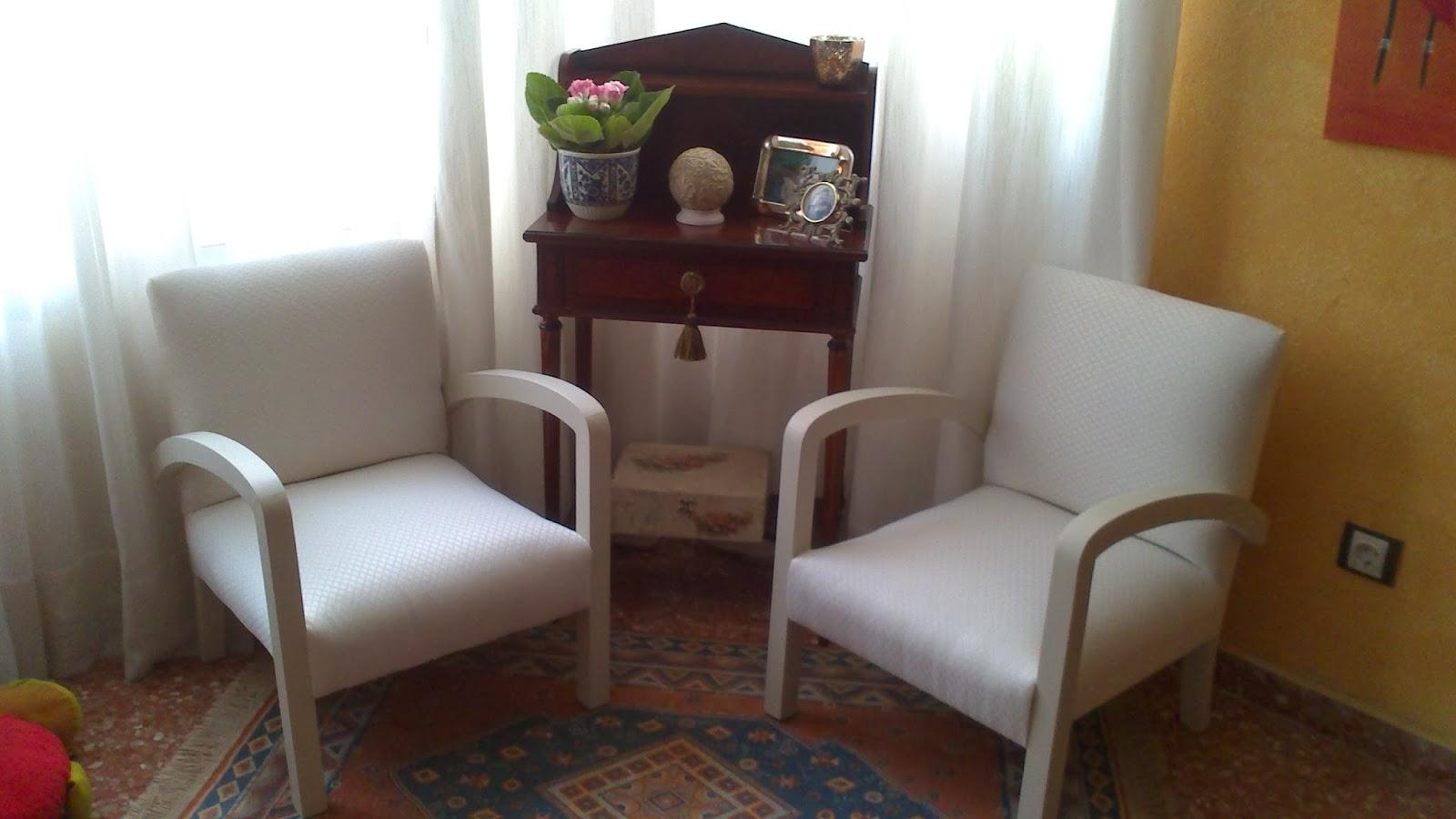 El blog de la restauradora sillones modernistas i for Sillones para ambientes pequenos
