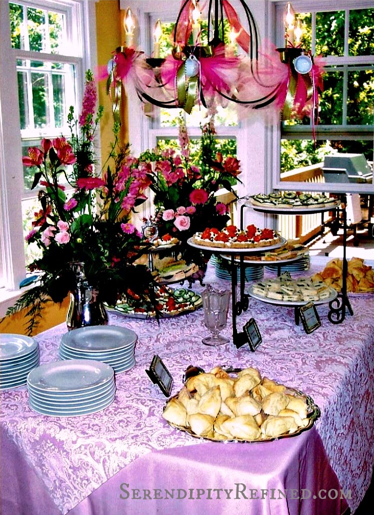 serendipity refined blog pink and white sweet 16 vintage tea party