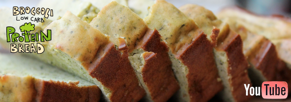 LOW-CARB BROCCOLI PROTEIN BREAD