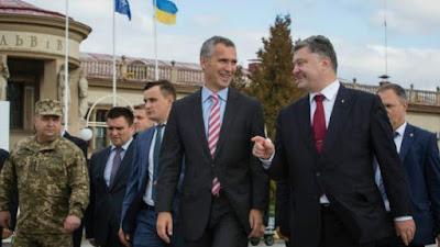 Poroshenko claimed that Ukraine is not ready to join NATO