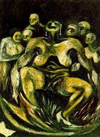 SOBRE UN RELATO DE H.P. LOVECRAFT y unos cuadros de Jackson Pollock