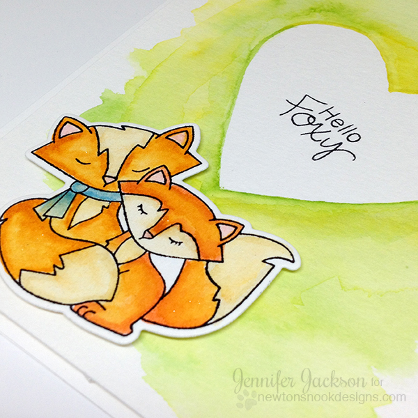 Simon Says Stamp Feature Sneak Peek | Fox Hollow Stamp set by Newton's Nook Designs #newtonsnook #fox