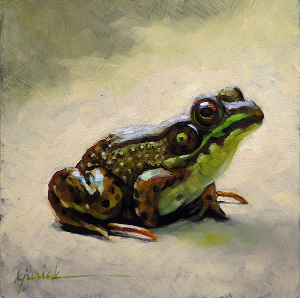 """A Painting Today: """"Frogger"""""""