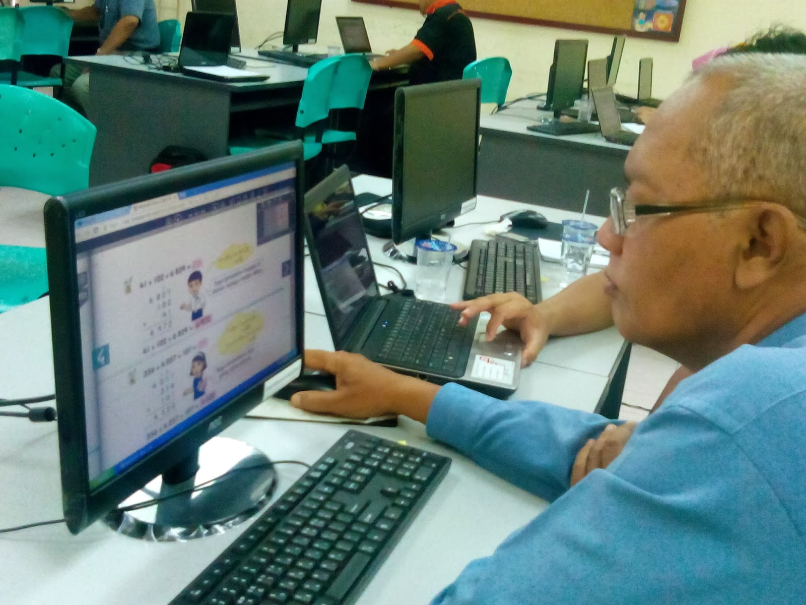Vle Frog Mohd Nizam: Ladap 1Bestarinet Frog VLE SK Seri Cempaka