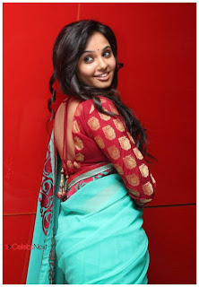 Aarushi Latest Pictures in Saree at Adithalam Tamil Movie Audio Launch  0038