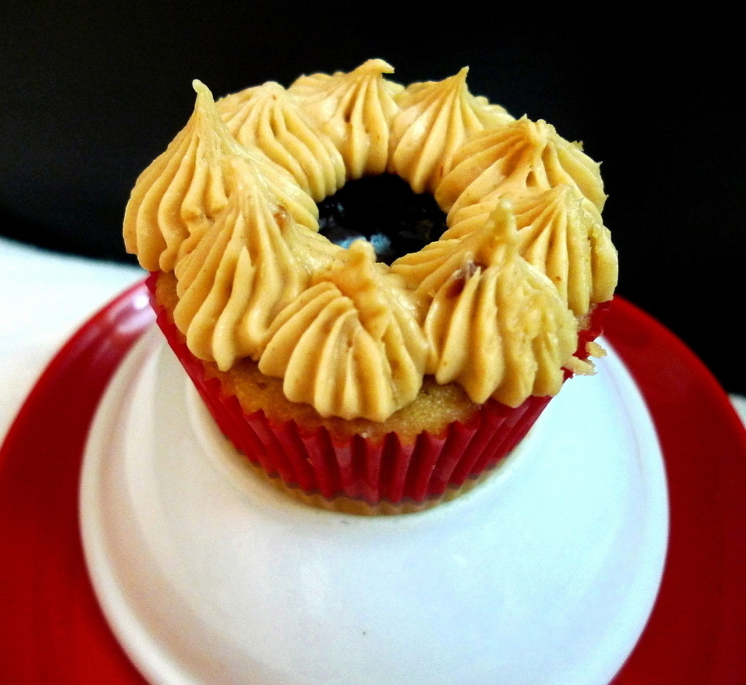 SWEET AS SUGAR COOKIES: Peanut Butter and Jelly Cupcakes