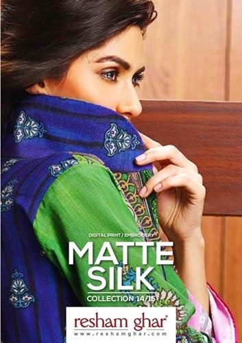 Resham ghar F/W Matte Silk Dresses'14/15