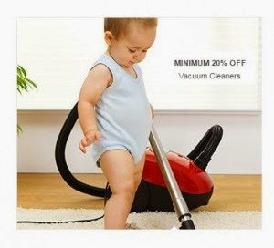 FLipkart: Buy Vaccum Cleaners upto 42% off + 15% off from Rs.1999