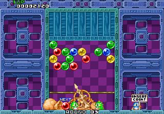 لعبة الكرات الملونة بازل بوبل Puzzle Bobble
