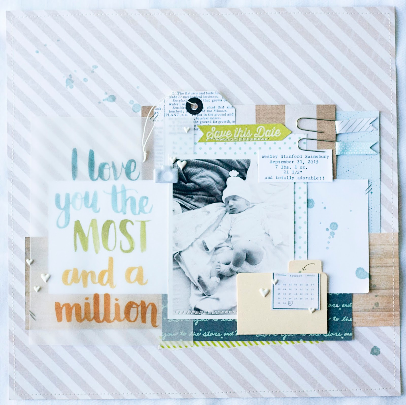 Scrapbook ideas sister - When My Daughter Was Born My Sister Was Just 12 Years Old She Used To Babysit For Me And They Became Very Close