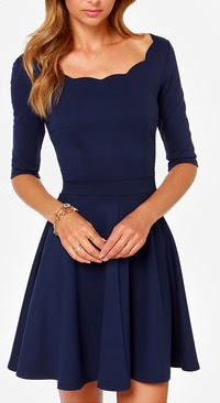 Vestidos de Coctel, Color Azul