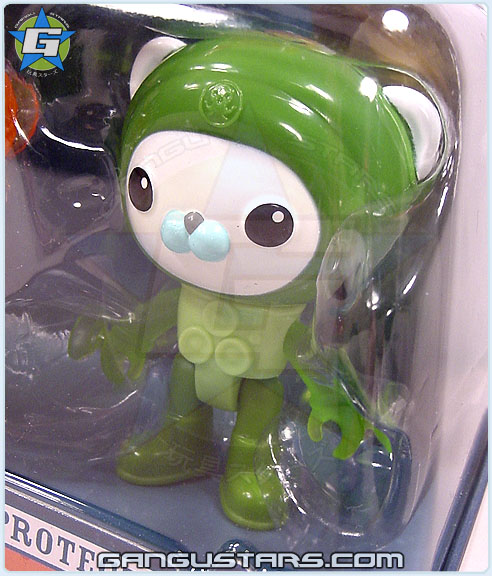 Octonauts Captain Barnacles すすめ!オクトノーツ Suction Suit toy Fisher-Price