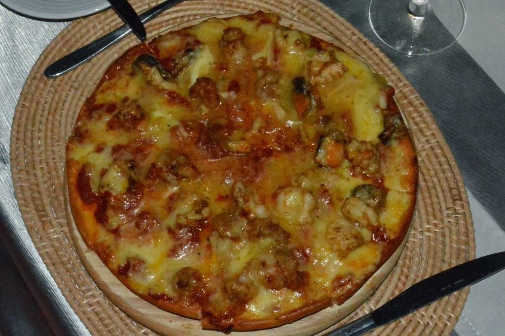 Zeascape Restaurant Phuket pizza seafood
