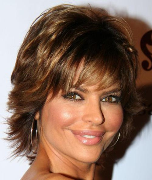The Awesome Short Hairstyles For Wavy Hair Women Image