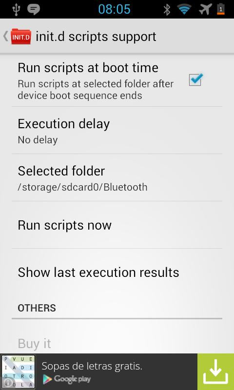 Cara Mengaktifkan Init.d Android Tanpa Ganti Kernel dan Root