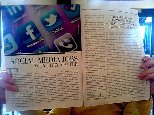 Mencari Pekerjaan Lewat Media Sosial