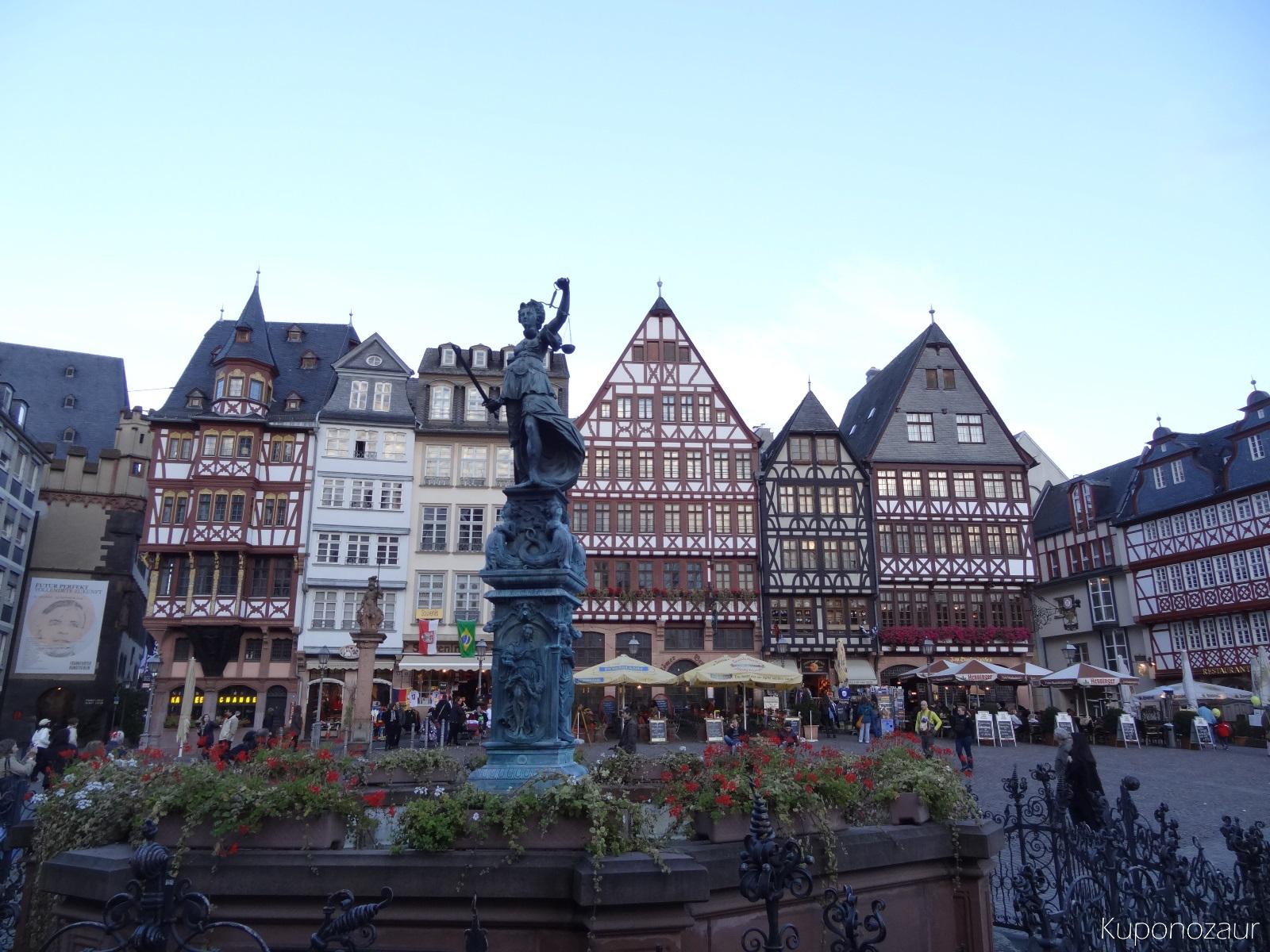 Miasto Frankfurt stare miasto
