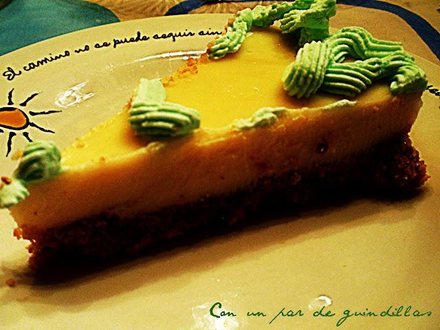 Tarta de lima