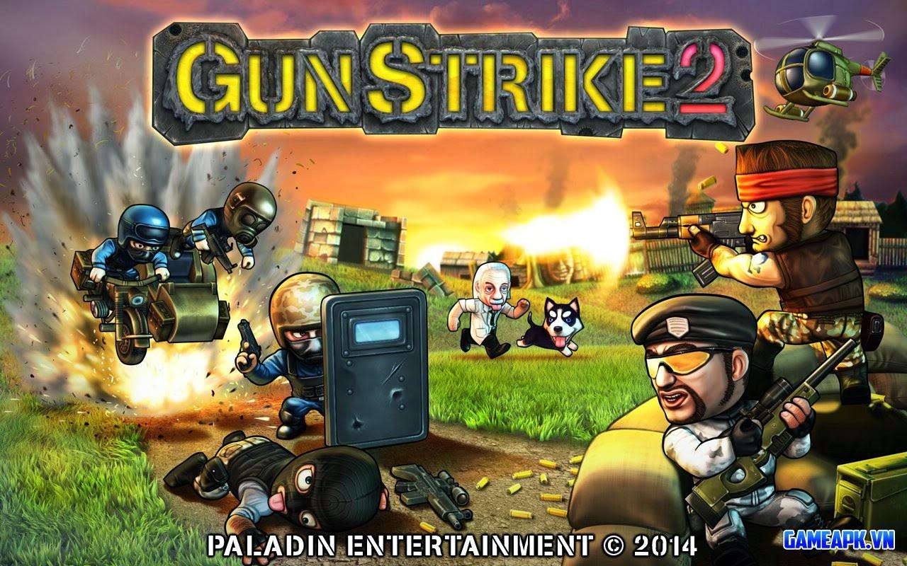 Gun Strike 2 v1.1.1 hack full tiền cho Android