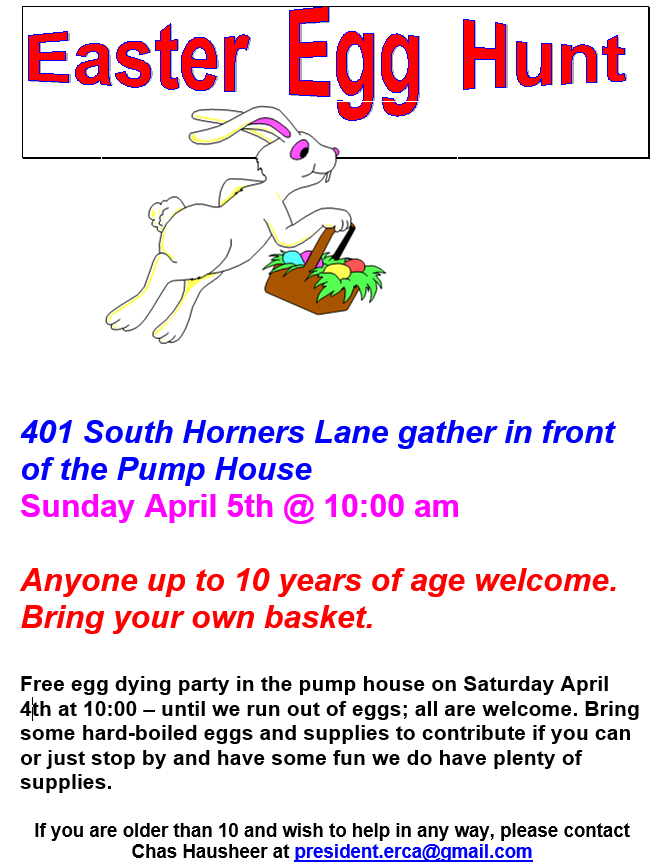 Egg Hunt and Egg Dying
