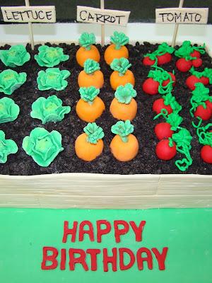 Sweet Cakes by Rebecca - Gardener birthday cake