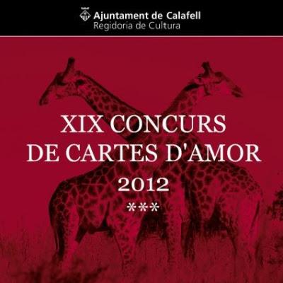 XIX Concurs de Cartes d'Amor 2012