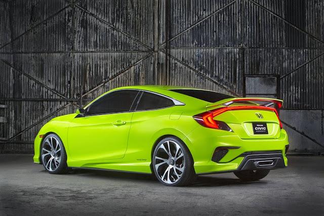 Mobil Honda Civic Generasi Ke-10 Resmi Dipamerkan