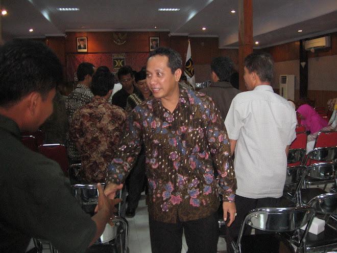 Ucapan Selamat dari Wakil Walikota Pekalongan : H.Alf Arslan Djunaid, S.E