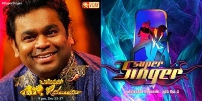 A R Rahman in Super Singer 4