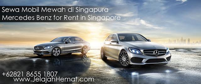 Sewa Kendaraan Mewah Mercedes di Singapore