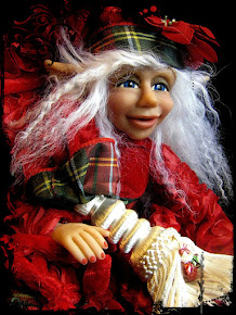Polar Elf Jointed Doll