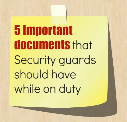 the importance of guard duty Use of security guards, original article written by apartment use of security guards by chris e mcgoey, cpp, csp, cpi, cam courtesy officer vs security guard is there a difference between a uniformed security guard many courtesy officers are off-duty police officers, and with them.