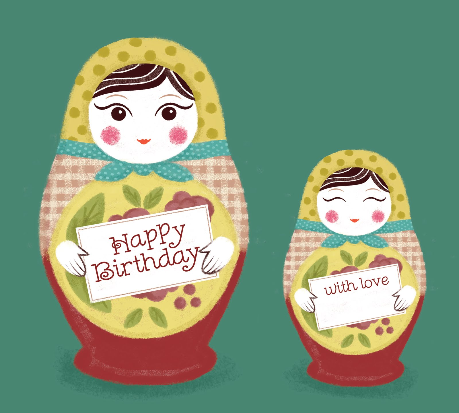 2d Scrumptious Russian here Russian there – Russian Birthday Greetings