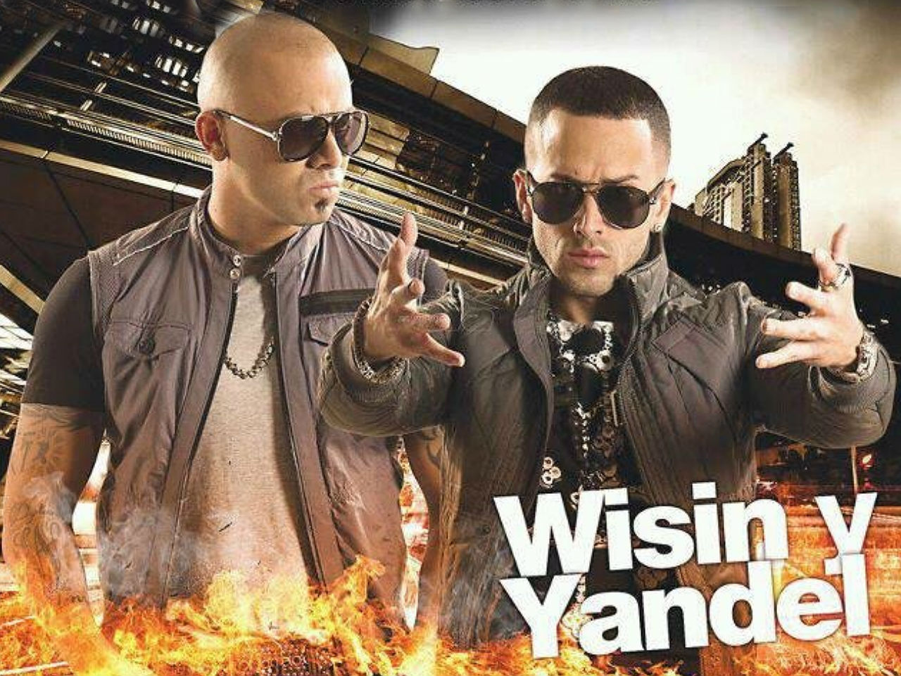wallpapers wisin y yandel hd 2012