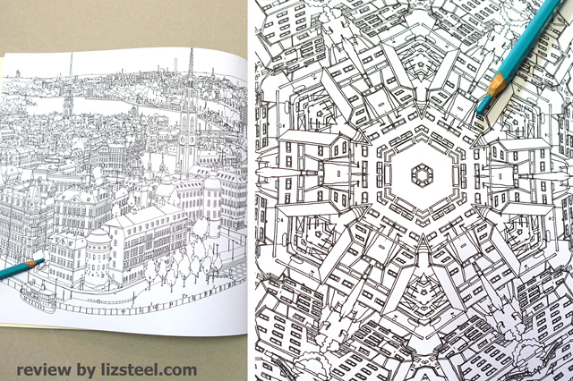 Incredibly Precise Drawn City Scenes And Building Drawings A Number Of Insanely Head Spinning Mandalas The Quality These Is