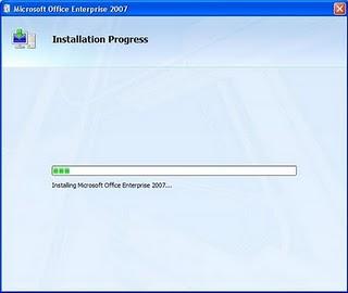 Cara 6 Instal Microsoft Office 2007