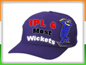 IPL 6 Most Wickets Records and IPL Purple Cap Logo